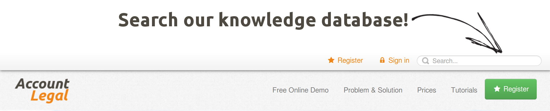 Search our knowledge database with ease! Find totorial on how to do just about anything!